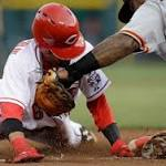 Reds' 3-2 loss to Giants snaps 4-game streak
