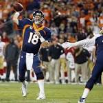 Peyton Manning could throw 600 touchdowns, trade for Percy Harvin shows ...