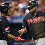 Streaking Indians win in 19th after 3 Blue Jays ejected on Canada Day
