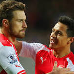 Hull 1-3 Arsenal: Alexis Sanchez nets twice to move Arsenal level on points with ...