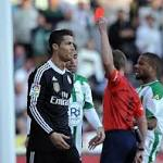 Ronaldo sees red; shocks aplenty in England's FA Cup