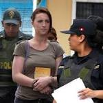 Peru two get 6 years and eight months for drug smuggling