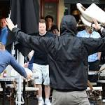 England and Wales fans clash with Russian supporters in Lille