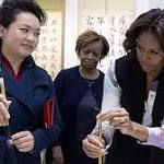 Michelle Obama pushes soft diplomacy on visit to China