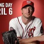 Nationals name 2015 Opening Day starter