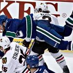 Chicago stutter in Presidents' Trophy pursuit as Canucks win Northwest