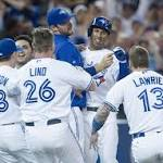 Blue Jays win ninth straight game