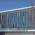 Wishard becomes Sidney & Lois Eskenazi Hospital
