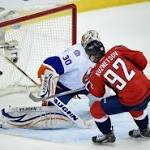 Islanders fall to Caps in shootout