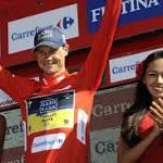 Nicolas Roche leads Vuelta; Leopold Konig wins stage 8