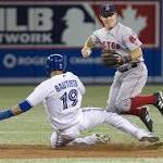 Blue Jays lose 11-7 to Red Sox