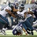 Romo says Eagles, not balky back to blame for poor outing