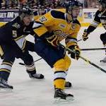 Connor McDavid suffers hand injury as Otters down Steelheads 4-0