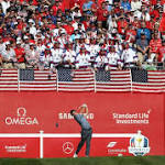 US poised to end Ryder Cup drought as fans warned to behave
