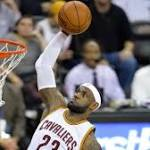 James scores 29 points as Cavaliers end 4-game skid