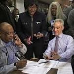 Chicago deciding Mayor Emanuel's re-election fate