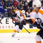 Flyers open long roadtrip by roasting Toronto Maple Leafs; 5 reasons for optimism