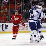 Red Wings-Lightning links: Late collapse in Game 4 could come back to haunt ...