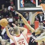 Rockets slow down weary James, halt Heat's winning streak