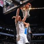 Mason Plumlee scores 17, Andray Blatche's role diminished as Nets top Magic