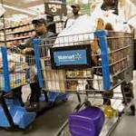 Low gas prices and hot weather help steer shoppers to Walmart