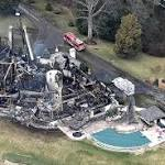 Crews find fifth body in Maryland mansion's ashes
