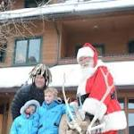 Two Summit County locals step into the big, jolly shoes of St. Nick this Christmas