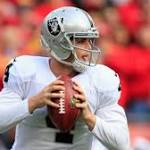 Carr Faces Another Tough Test In Rookie Season