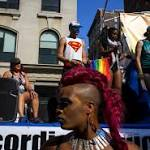 Gay pride parades celebrate history and marriage
