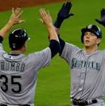 Morrison's two homers carry Mariners to 8-1 victory over Astros