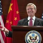 New U.S. Ambassador To China Gets a Fast Start
