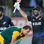 Cricket World Cup: Grant Elliott leads New Zealand to sensational win over ...