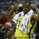 BYU loses 87-68 to Oregon in NCAA tournament