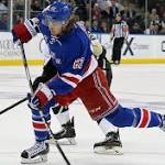 Hagelin uses speed to his advantage in Rangers' win