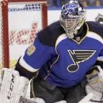 Blues, Red Wings sit key names in season finale