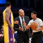 NBA-worst Knicks hold off Lakers in Derek Fisher's return to LA