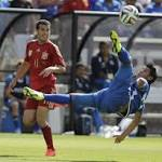 Costa looks fit as Spain tops El Salvador 2-0