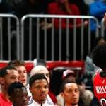 Raptors open second half of season with rout of Hawks