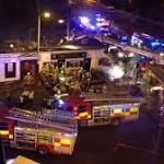 Helicopter Crashes Into Glasgow Pub Roof