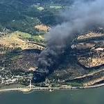 APNewsBreak: Railroad Blamed for Fiery Oil Train Derailment