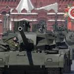 Moscow uses tanks, Berlin words in World War Two commemorations