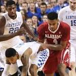 No. 16 Kentucky Pulls Away From Alabama for a 78-53 Victory