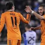 Benzema gives Real slender lead in Copa quarters