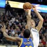 Warriors' comeback runs fall short against Mavs