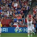 Women's World Cup: TV audience growing for U.S. team