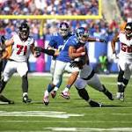 Giants RB Rashad Jennings has sprained knee