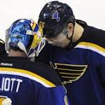 Blues look to 'poised' Elliott to close out Stars tonight