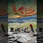 Scientists make striking high-tech scan of prehistoric art