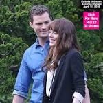 'Fifty Shades Darker': First Pics Of Dakota Johnson & Jamie Dornan As Mr. & Mrs. Grey