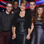 Christine Wu Returns to The Voice with Jacquie Lee and Cole Vosbury